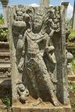 Forntida snida i Anuradhapura, Sri Lanka Royaltyfri Foto