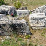 Forntida snida stenar Royaltyfri Foto