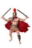 Forntida soldat eller gladiator fotografering för bildbyråer