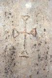 forntida som bakgrundsephesus fördärvar Arkivbild