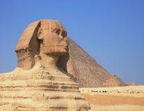 forntida sphinx Royaltyfri Bild