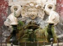 Forntida springbrunn i Cerveteri arkivfoton