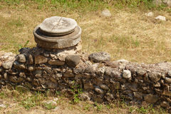 forntida stad Arkivfoto