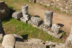 forntida stad Royaltyfria Bilder
