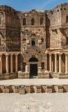 Forntida stad av Busra al-Sham  Royaltyfri Fotografi