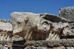Forntida stad av ephesusen Royaltyfria Foton