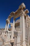 Forntida stad av ephesusen Arkivbild