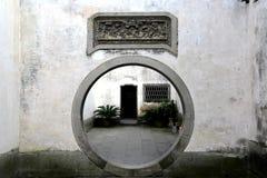 Forntida stad av Huizhou, Anhui, porslin royaltyfria bilder