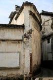 Forntida stad av Huizhou, Anhui, porslin fotografering för bildbyråer