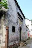 Forntida stad av Huizhou, Anhui, porslin royaltyfri bild