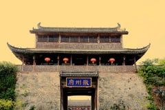 Forntida stad av Huizhou, Anhui, porslin royaltyfri fotografi