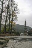Forntida stad av jiezien i sichuan, porslin arkivfoton