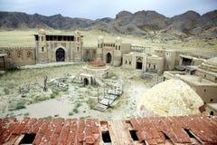 Forntida stad av nomader Arkivfoto