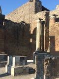 Forntida stad av Pompeii Royaltyfri Foto