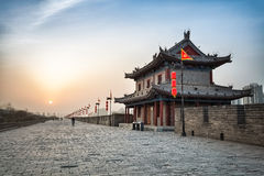 Forntida stad av xian Royaltyfri Foto