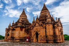 Forntida stad - Bagan Arkivbild