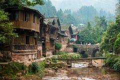 Forntida stad för Kina ` s Arkivfoto