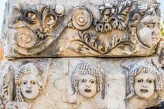 Forntida stad i Myra Demre Turkey Royaltyfri Bild
