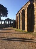 Forntida stad Pompeii Royaltyfri Foto