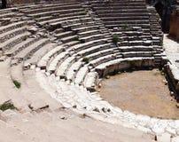 forntida stadsephesus arkivbild