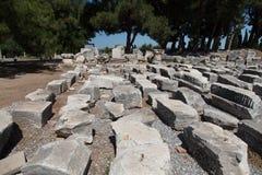 forntida stadsephesus Royaltyfri Bild