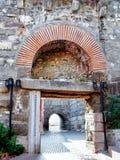 forntida stadsport för amasra Royaltyfri Fotografi