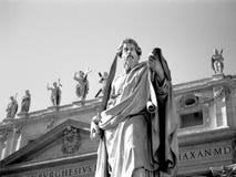 forntida staty Arkivbild