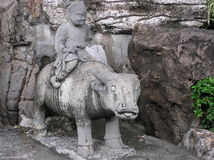 forntida staty Arkivfoto