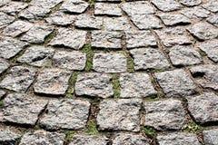 Forntida stenläggningsten Royaltyfria Bilder