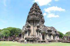 Forntida stenslott i Thailand Arkivfoton