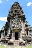 Forntida stenslott i Thailand Arkivfoto