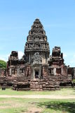 Forntida stenslott i Thailand Royaltyfria Foton