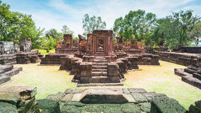 Forntida stenslott, Thailand Royaltyfri Fotografi