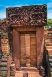 Forntida stenslott, Thailand Fotografering för Bildbyråer