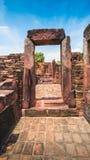 Forntida stenslott, Thailand Arkivfoton