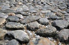 forntida stenwalkway Fotografering för Bildbyråer