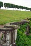 forntida stil för staketpeterhofskydd Arkivfoto