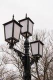 Forntida Streetlight Royaltyfria Bilder