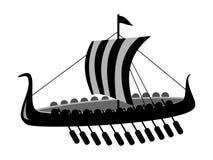 forntida stridship Arkivfoton