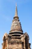 Forntida stupa Arkivbild
