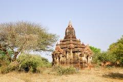 Forntida Stupa Bagan, Myanmar Royaltyfri Fotografi