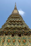 Forntida Stupa på Wat Pho Bangkok Arkivbild