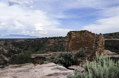Forntida sydvästlig stenhuggeriarbete arkivbild