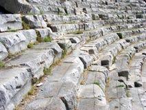 forntida teater Arkivbild