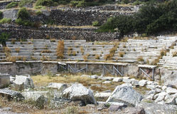 forntida teater Arkivfoton