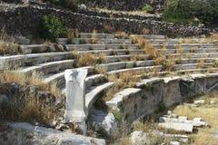 forntida teater Royaltyfri Fotografi