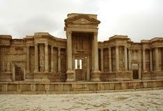 forntida teater Royaltyfria Bilder