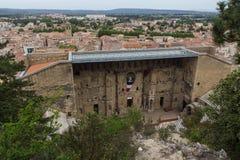Forntida teater av apelsinen, Frankrike Royaltyfria Foton