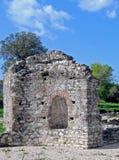 forntida tegelstenstenar Royaltyfri Bild
