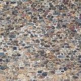 Forntida tegelstenvägg Royaltyfria Foton